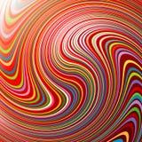 Giro abstracto Imágenes de archivo libres de regalías