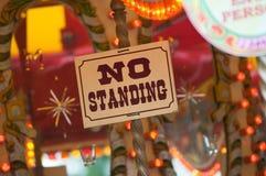 Giro al suolo giusto - NO--stando Immagine Stock Libera da Diritti