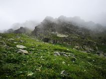 Giro alto Tatras fotografie stock