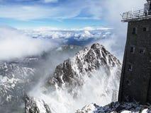 Giro alto Tatras immagine stock