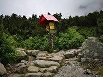 Giro alto Tatras immagini stock libere da diritti