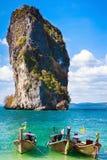 Giro in barca di Krabi Fotografie Stock Libere da Diritti