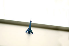 Giro blu Eiffel Fotografia Stock