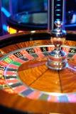 Giro clássico da roda de roleta do casino Imagem de Stock