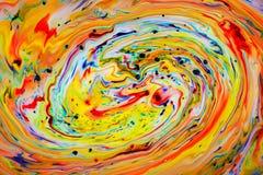 Giro colorido del flujo Fotos de archivo libres de regalías