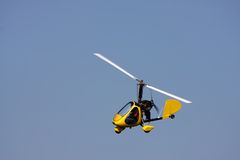 Giro Copter Stock Images
