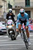 Giro d'Italia 2012 - Milan last Time trial Royalty Free Stock Photography