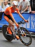 Giro d'Italia 2012 - Nieve - Time trial Stock Image