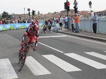 Giro d'Italia - BMC RACING  team Royalty Free Stock Image