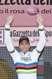 Giro d'Italia: Cadel Evans Stock Images
