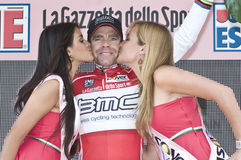 Giro d'Italia: Cadel Evans Royalty Free Stock Photography