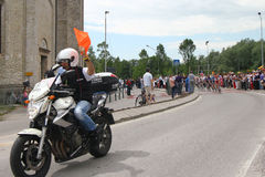 Giro d'Italia cycling competition Royalty Free Stock Photo