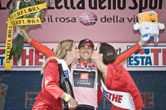 Giro d'Italia: David Arroyo  Stock Image