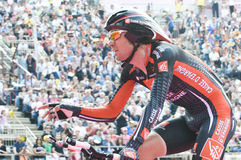 GIro d'Italia: David Arroyo. David Arroyo, famous Spanish professional road bicycle racer, in Verona Arena at the end of Giro d'Italia 2010 Stock Image