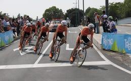Giro d'Italia - EUSKALTEL EUSKADI team Royalty Free Stock Image