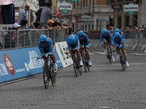 Giro d'Italia - GARMIN BARRACUDA  team Stock Photo