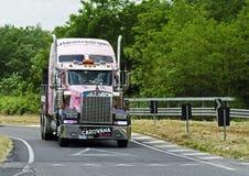 Giro d'Italia 2014 Gazzetta dello Sport - sponsor Royalty Free Stock Image