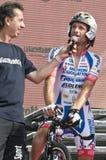 Giro d'Italia: Michele Scarponi Stock Images