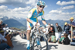 Giro d'Italia Plan de Corones Kronplatz Royalty Free Stock Photos