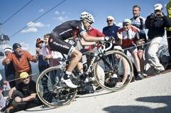 Giro d'Italia Plan de Corones Kronplatz Stock Photos