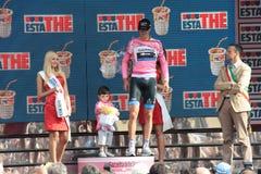 Giro d'Italia - Ramunas Navardauskas Royalty Free Stock Photography