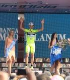 Giro d'Italia - SELLE ITALIA FARNESE Royalty Free Stock Image
