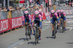 98° Giro D'Italia. Stage 01 Royalty Free Stock Photography