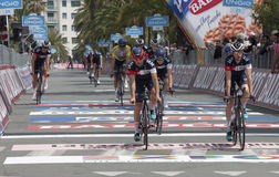 98° Giro D'Italia. Stage 01 Royalty Free Stock Images