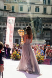 Giro d'italia 2013 trofeo senza fine Stock Photos