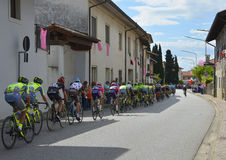 Giro d&#x27 Περάσματα της Ιταλίας μέσω Moimacco Στοκ φωτογραφία με δικαίωμα ελεύθερης χρήσης