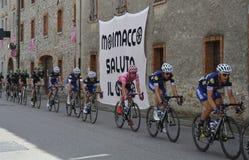 Giro d&#x27 Περάσματα της Ιταλίας μέσω Moimacco Στοκ Φωτογραφία