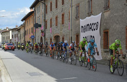 Giro d&#x27 Περάσματα της Ιταλίας μέσω Moimacco Στοκ Φωτογραφίες