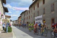 Giro d' De Passen van Italië door Moimacco Royalty-vrije Stock Foto's
