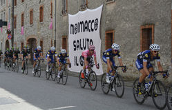 Giro d'Italia Passes Through Moimacco Stock Photography