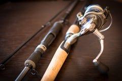 Giro da equipamento-pesca da pesca fotografia de stock royalty free