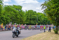 Giro de Francia Fotografia Stock
