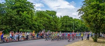Giro de Francia Fotografia Stock Libera da Diritti