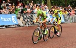 Giro de Francia Fotografie Stock Libere da Diritti
