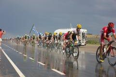 Giro de Francia Immagini Stock