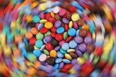 Giro de la acometida del azúcar imagen de archivo