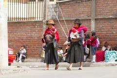 Giro de las lanas Fotos de archivo