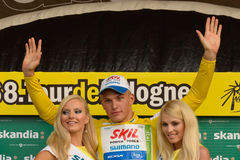 Giro de Pologne 2011 - Marcell Kittel Fotografia Stock