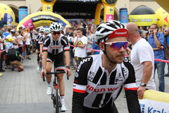 Giro De Pologne 2017 SUNWEB Fotografia Stock