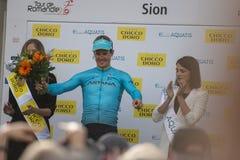 Giro de Romandie 2018 Immagini Stock Libere da Diritti