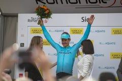 Giro de Romandie 2018 Fotografia Stock Libera da Diritti