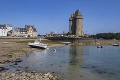 Giro de Solidor - Saint Malo Francia fotografia stock