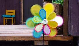 Giro decorativo del molino de viento Imagen de archivo libre de regalías