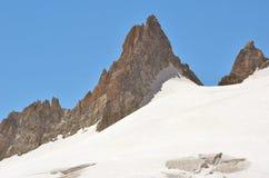 Giro del Aiguille du Col du Fotografie Stock