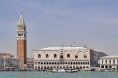 Giro del canale di Giudecca, Venezia, Italia immagine stock libera da diritti