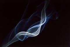 Giro del humo imagen de archivo